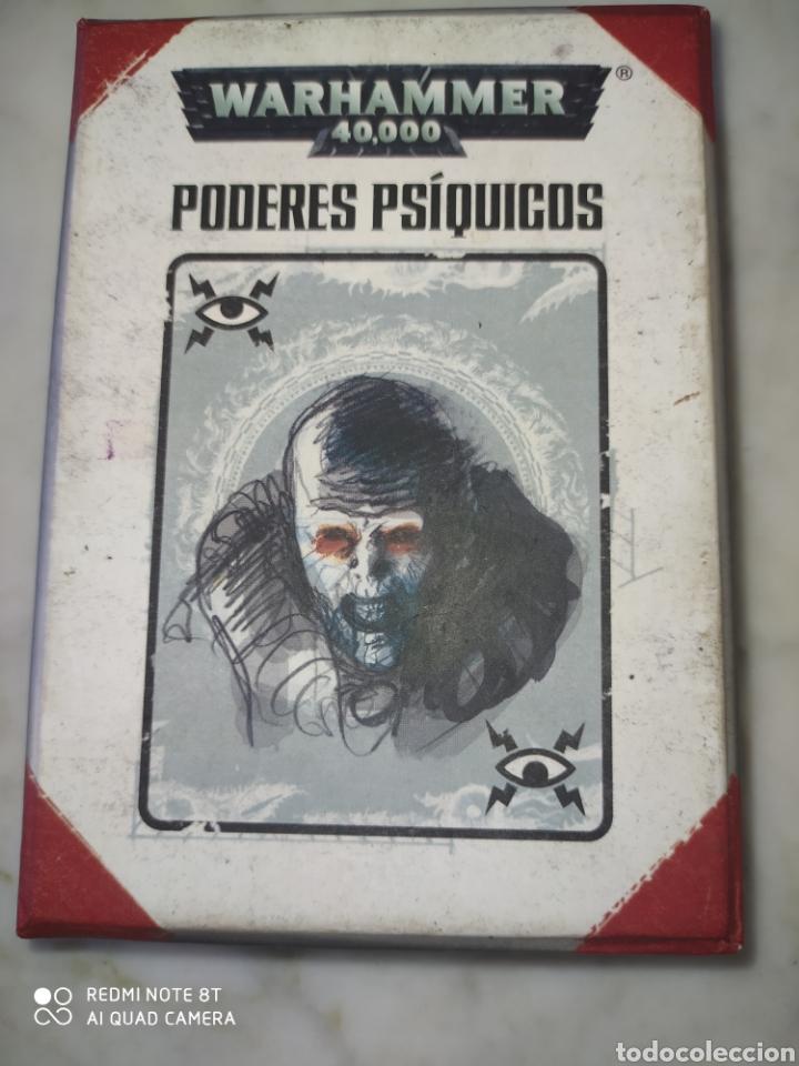 WARHAMMER 40000 PODERES PSIQUICOS (Juguetes - Rol y Estrategia - Warhammer)
