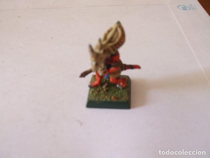 Juegos Antiguos: WARHAMMER FANTASY (OLDHAMMER): HEROE ESLIZON DE PLOMO EJERCITO HOMBRES LAGARTO - Foto 2 - 218963576
