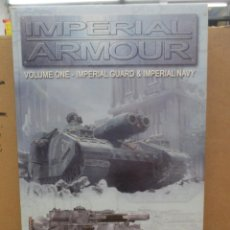 Juegos Antiguos: IMPERIAL ARMOUR VOLUMEN 1 Y VOLUMEN 2 - WARHAMMER - 1ª EDICION - INGLES - GAMES WORKSHOP. Lote 221822975