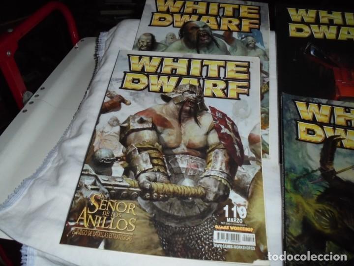 Juegos Antiguos: WHITE DWARF 4 REVISTAS Nº 118-119-120-121.EL SEÑOR DE LOS ANILLOS EL JUEGO DE LAS BATALLAS ESTRATEG - Foto 3 - 221830525