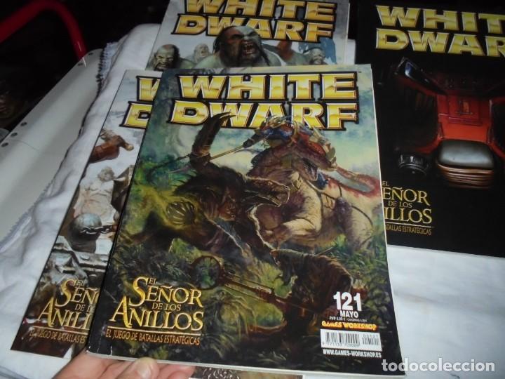 Juegos Antiguos: WHITE DWARF 4 REVISTAS Nº 118-119-120-121.EL SEÑOR DE LOS ANILLOS EL JUEGO DE LAS BATALLAS ESTRATEG - Foto 4 - 221830525