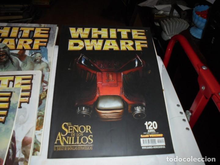 Juegos Antiguos: WHITE DWARF 4 REVISTAS Nº 118-119-120-121.EL SEÑOR DE LOS ANILLOS EL JUEGO DE LAS BATALLAS ESTRATEG - Foto 5 - 221830525