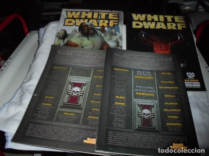 Juegos Antiguos: WHITE DWARF 4 REVISTAS Nº 118-119-120-121.EL SEÑOR DE LOS ANILLOS EL JUEGO DE LAS BATALLAS ESTRATEG - Foto 6 - 221830525
