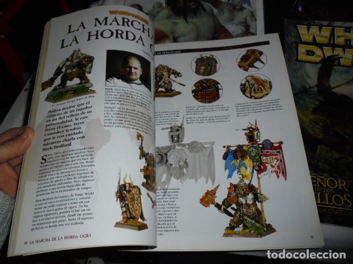 Juegos Antiguos: WHITE DWARF 4 REVISTAS Nº 118-119-120-121.EL SEÑOR DE LOS ANILLOS EL JUEGO DE LAS BATALLAS ESTRATEG - Foto 7 - 221830525
