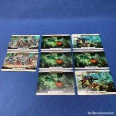 Juegos Antiguos: WARHAMMER 8 HOJAS DE UNIDAD AGE OF SIGMAR. Lote 221834766