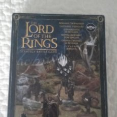 Juegos Antiguos: 28MM LORD OF THE RINGS WARHAMMER ISENGARD COMMANDERS GAMES WORKSHOP (RESINA). Lote 221874842