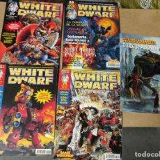 Juegos Antiguos: WARHAMMER LOTE 4 REVISTA WHITE DWARF GAMES WORKSHOP Nº23-24--29-45 CON REGALO DARK SHADOWS. Lote 222283212