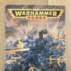 Juegos Antiguos: REGLAMENTO WARHAMMER 40000 AÑO 1994. Lote 222430111