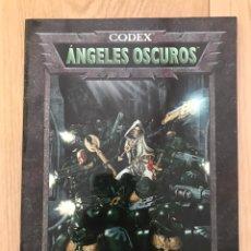 Juegos Antiguos: CODEX ÁNGELES OSCUROS WARHAMMER 40000 - MARINES ESPACIALES. Lote 222430530