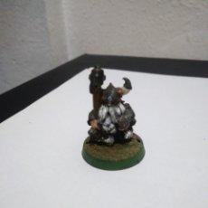 Juegos Antiguos: FIGURA METAL ENANO WARHAMMER FANTASY.. Lote 222507776