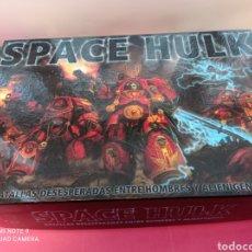 Juegos Antiguos: SPACE HULK BATALLAS DESESPERADAS ENTRE HOMBRES Y ALIENIGENAS - CASTELLANO NUEVO. Lote 222867886