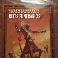 Juegos Antiguos: EJÉRCITOS WARHAMMER: REYES FUNERARIOS. Lote 223026675