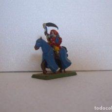 Juegos Antiguos: WARHAMMER FANTASY (OLDHAMMER): MAGO A CABALLO COLEGIO AMATISTA DE PLOMO EJERCITO IMPERIO. Lote 224383163