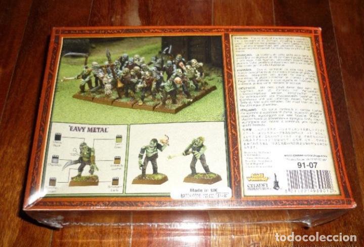 Juegos Antiguos: warhammer ROL ESTRATEGIA REGIMIENTO ZOMBIES NUEVO BLISTER PERFECTO CITADEL - Foto 2 - 224516911