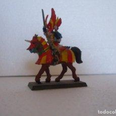 Juegos Antiguos: WARHAMMER FANTASY (OLDHAMMER): KURT HELBORG DE PLOMO EJERCITO IMPERIO. Lote 224521542