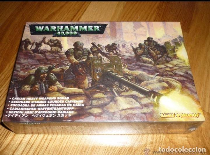 ESCUADRA DE ARMAS PESADAS DE CADIA GUARDIA IMPERIAL WARHAMMER 40.000 (Juguetes - Rol y Estrategia - Warhammer)