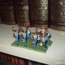 Juegos Antiguos: WARHAMMER FANTASY (OLDHAMMER): 8 FUSILEROS DE PLASTICO EJERCITO DEL IMPERIO. Lote 224937913