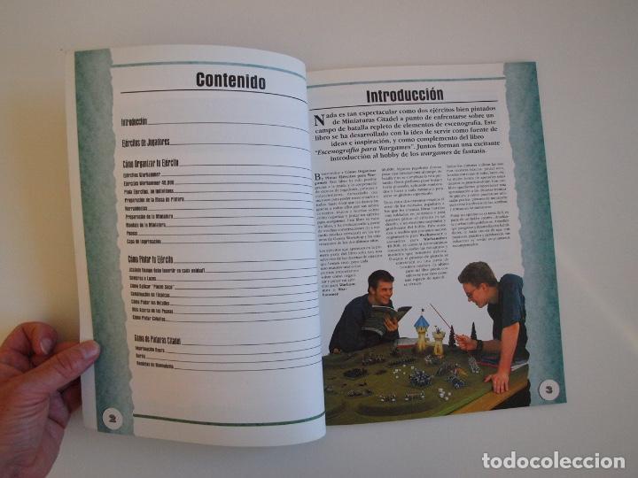Juegos Antiguos: CÓMO ORGANIZAR Y PINTAR EJÉRCITOS PARA WARGAMES - GAMES WORKSHOP - MINIATURAS CITADEL - 1998 - Foto 3 - 226232430