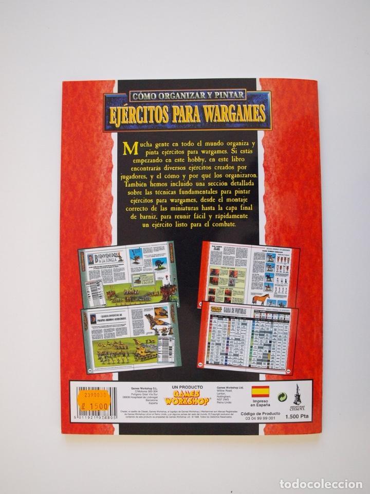 Juegos Antiguos: CÓMO ORGANIZAR Y PINTAR EJÉRCITOS PARA WARGAMES - GAMES WORKSHOP - MINIATURAS CITADEL - 1998 - Foto 6 - 226232430