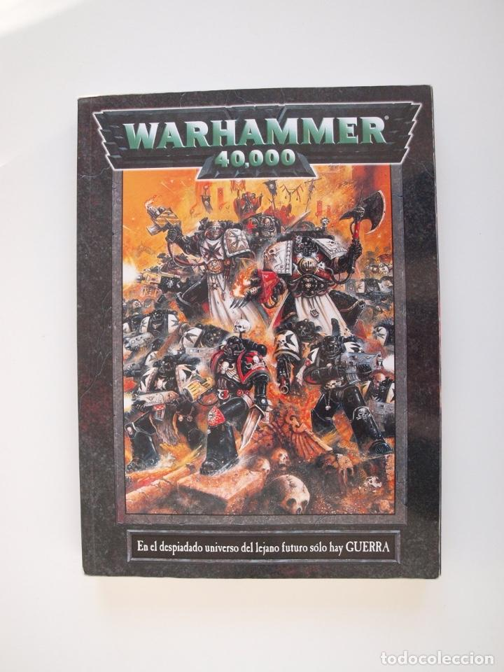 WARHAMMER 40,000 - REGLAMENTO - GAMES WORKSHOP - MINIATURAS CITADEL - 1998 (Juguetes - Rol y Estrategia - Warhammer)