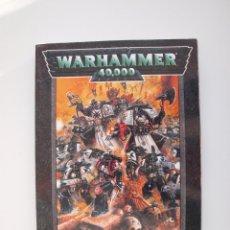 Juegos Antiguos: WARHAMMER 40,000 - REGLAMENTO - GAMES WORKSHOP - MINIATURAS CITADEL - 1998. Lote 226254935