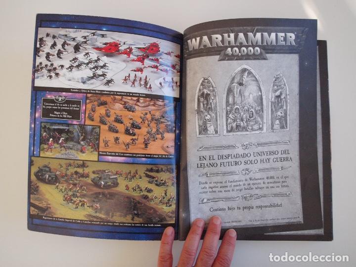 Juegos Antiguos: WARHAMMER 40,000 - REGLAMENTO - GAMES WORKSHOP - MINIATURAS CITADEL - 1998 - Foto 2 - 226254935