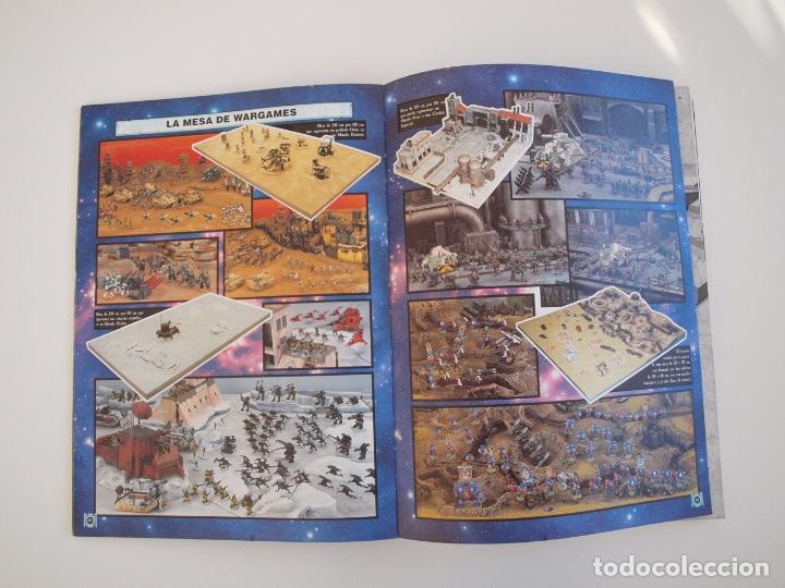 Juegos Antiguos: WARHAMMER 40,000 - REGLAMENTO - GAMES WORKSHOP - MINIATURAS CITADEL - 1998 - Foto 3 - 226254935