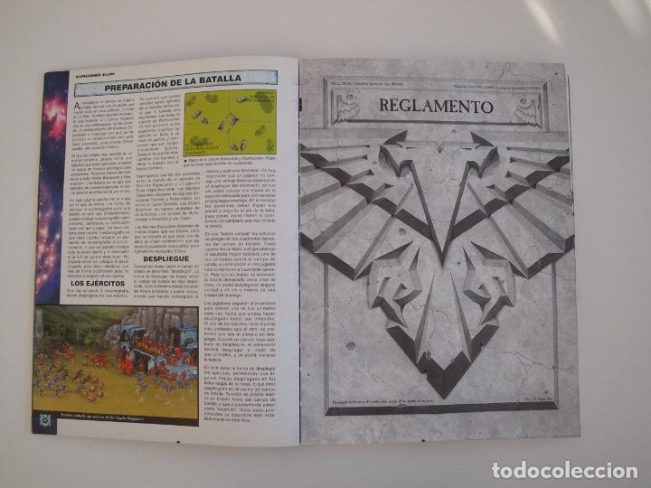 Juegos Antiguos: WARHAMMER 40,000 - REGLAMENTO - GAMES WORKSHOP - MINIATURAS CITADEL - 1998 - Foto 4 - 226254935
