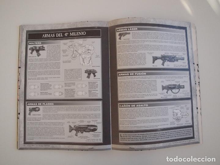 Juegos Antiguos: WARHAMMER 40,000 - REGLAMENTO - GAMES WORKSHOP - MINIATURAS CITADEL - 1998 - Foto 5 - 226254935