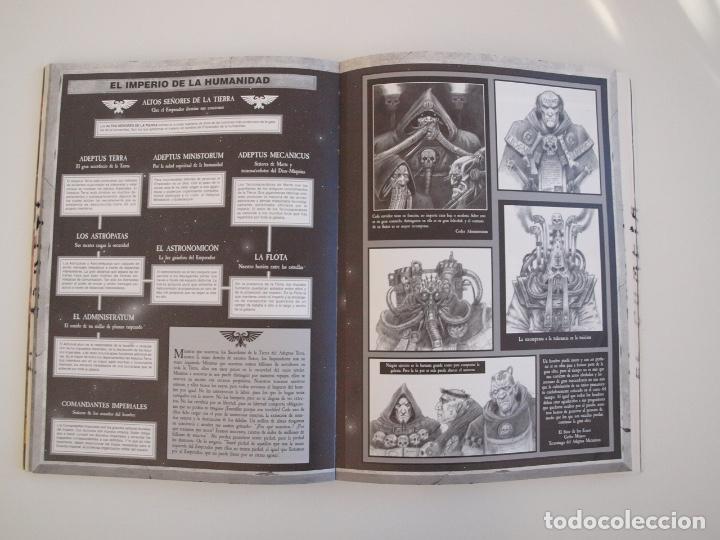 Juegos Antiguos: WARHAMMER 40,000 - REGLAMENTO - GAMES WORKSHOP - MINIATURAS CITADEL - 1998 - Foto 6 - 226254935