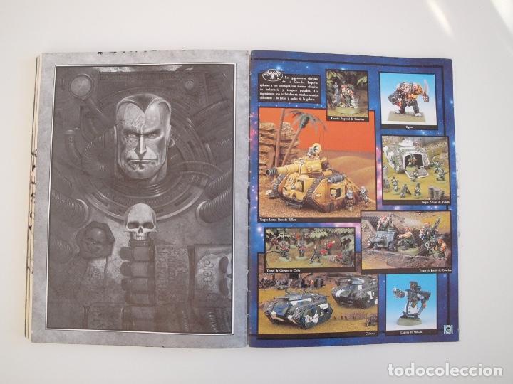 Juegos Antiguos: WARHAMMER 40,000 - REGLAMENTO - GAMES WORKSHOP - MINIATURAS CITADEL - 1998 - Foto 7 - 226254935
