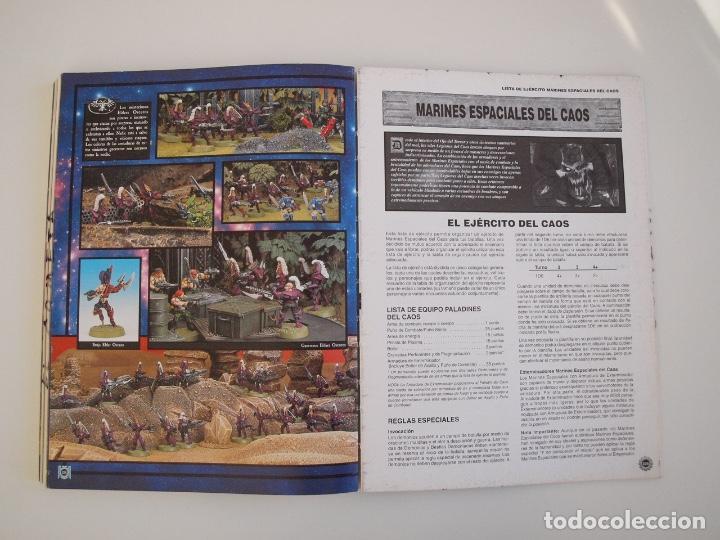 Juegos Antiguos: WARHAMMER 40,000 - REGLAMENTO - GAMES WORKSHOP - MINIATURAS CITADEL - 1998 - Foto 8 - 226254935