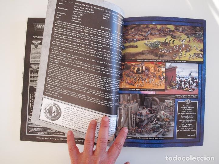 Juegos Antiguos: WARHAMMER 40,000 - REGLAMENTO - GAMES WORKSHOP - MINIATURAS CITADEL - 1998 - Foto 11 - 226254935