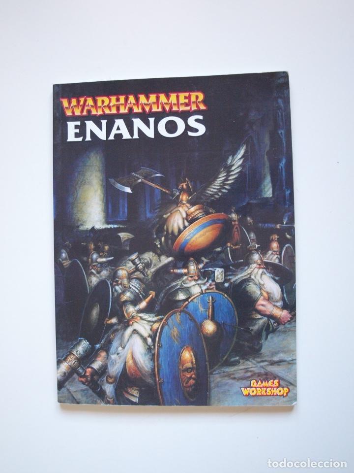 EJÉRCITOS WARHAMMER: ENANOS - GAMES WORKSHOP - MINIATURAS CITADEL - 2000 (Juguetes - Rol y Estrategia - Warhammer)