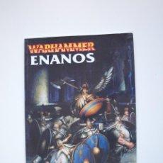 Juegos Antiguos: EJÉRCITOS WARHAMMER: ENANOS - GAMES WORKSHOP - MINIATURAS CITADEL - 2000. Lote 226355593