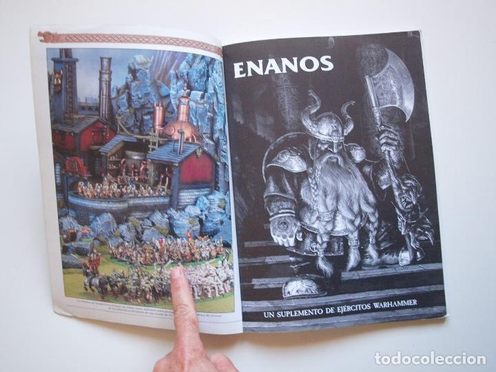 Juegos Antiguos: EJÉRCITOS WARHAMMER: ENANOS - GAMES WORKSHOP - MINIATURAS CITADEL - 2000 - Foto 2 - 226355593
