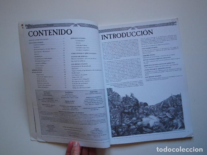 Juegos Antiguos: EJÉRCITOS WARHAMMER: ENANOS - GAMES WORKSHOP - MINIATURAS CITADEL - 2000 - Foto 3 - 226355593