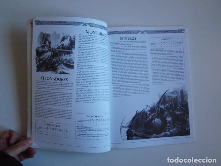 Juegos Antiguos: EJÉRCITOS WARHAMMER: ENANOS - GAMES WORKSHOP - MINIATURAS CITADEL - 2000 - Foto 4 - 226355593
