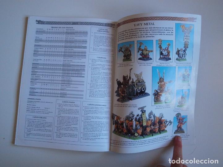 Juegos Antiguos: EJÉRCITOS WARHAMMER: ENANOS - GAMES WORKSHOP - MINIATURAS CITADEL - 2000 - Foto 8 - 226355593