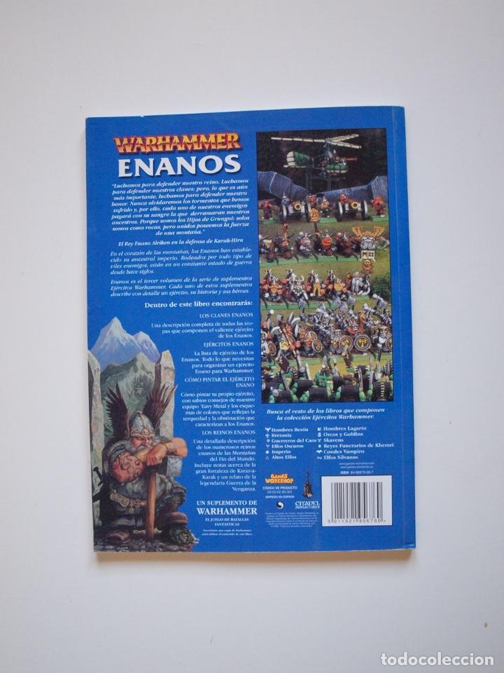 Juegos Antiguos: EJÉRCITOS WARHAMMER: ENANOS - GAMES WORKSHOP - MINIATURAS CITADEL - 2000 - Foto 9 - 226355593