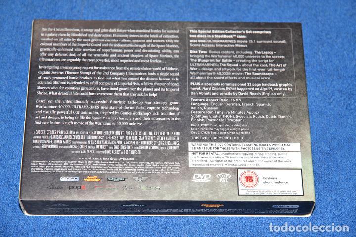 Juegos Antiguos: ULTRAMARINES (WARHAMMER 40K MOVIE) - SPECIAL EDITION - EN CASTELLANO Y COMO NUEVO - Foto 3 - 226583321