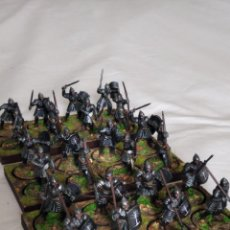 Juegos Antiguos: 28MM GAMES WORKSHOP LORD OF THE RINGS WARRIORS OF MINAS TIRITH PINTADOS EN ALTA CALIDAD. Lote 228422910