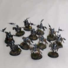 Juegos Antiguos: 28MM GAMES WORKSHOP LORD OF THE RINGS 12 CABALLEROS DE MINAS TIRITH PINTADOS EN ALTA CALIDAD. Lote 228436805