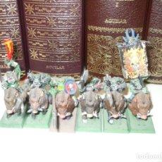Juegos Antiguos: WARHAMMER FANTASY (OLDHAMMER): 6 JINETES DE JABALI EJERCITO ORCOS Y GOBLINS. Lote 228543820