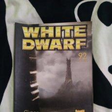 Juegos Antiguos: WHITE DWARF N° 92 EDICIÓN ESPAÑOLA. Lote 229049835