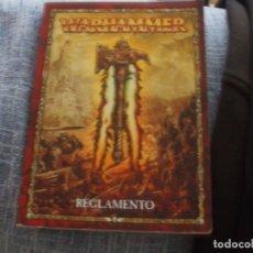 Juegos Antiguos: WARHAMMER FANTASY (OLDHAMMER): ANTIGUO LIBRO DE REGLAS EDICIÓN DE BOLSILLO ESPAÑOL. Lote 229843100