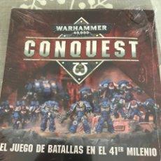 Juegos Antiguos: WARHAMMER CONQUEST 01 FASCÍCULO SIN ABRIR. Lote 233646460