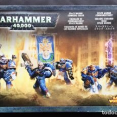 Giochi Antichi: WARHAMMER 40.000 SPACE MARINE COMMAND SQUAD - ESCUADRA MANDO MARINES ESPACIALES - 2004 RARO. Lote 233819930