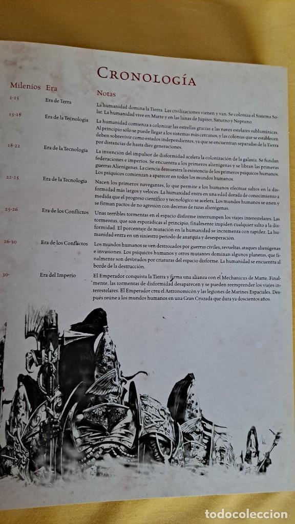 Juegos Antiguos: ALAN MERRETT - LA HEREJIA DE HORUS, LA GRAN GUIA ILUSTRADA - TIMUNMAS 2008 - Foto 5 - 234921735