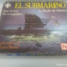Juegos Antiguos: JUEGO DE ESTRATEGIA NAC EL SUBMARINO-LA GRAN EPOPEYA DE LOS LOBOS DE MAR/WARGAMES/NIKE & COOPER.. Lote 235132855